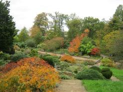 Gradina Wisley fotografiata in octombrie